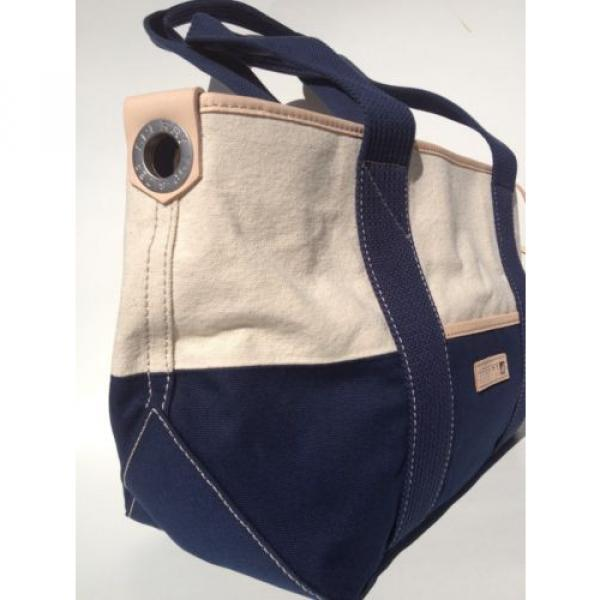 Sperry Top-Sider Nautical Carryall Tote Hand Bag Purse Beach Cruiseship Vacation #2 image