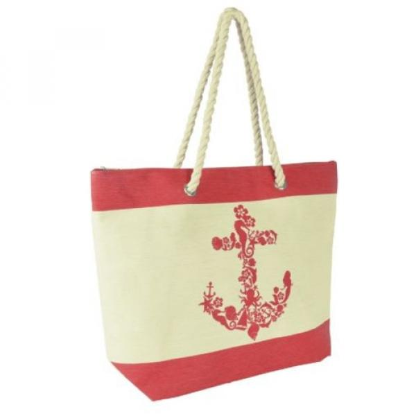 Anchor Design Shoulder / Beach / Shopping Bag with Rope Handle #2 image