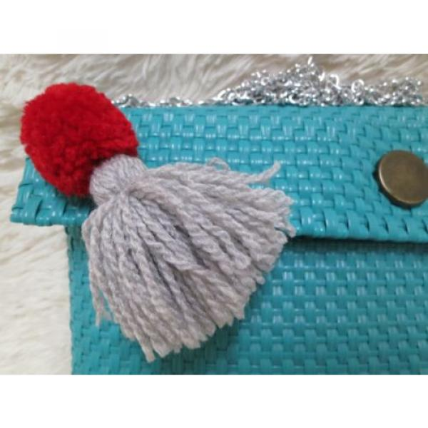 Handmade bag; Mexican Bag;Clutch;Beach Bag; Night bag; Plastic bag; Fashion Bag; #3 image