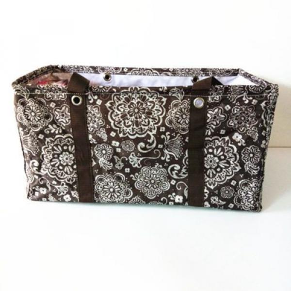 Thirty one women handbag Canvas Shoulder Bags  basket beach bag #1 image