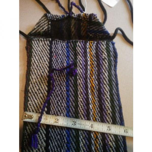 HAND WOVEN TOTE / BEACH BAG / PURSE #3 image