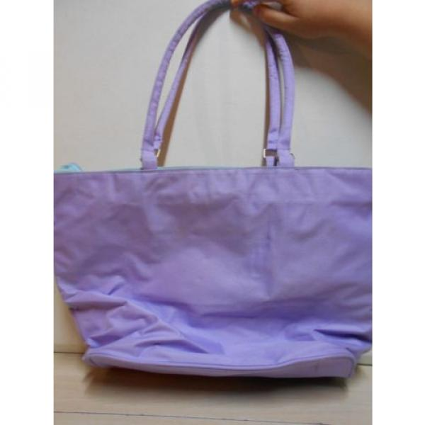 Carolina Girl Flip Flop Purple Beach Tote Bag FUN Carry All Women's Shoulder Bag #4 image