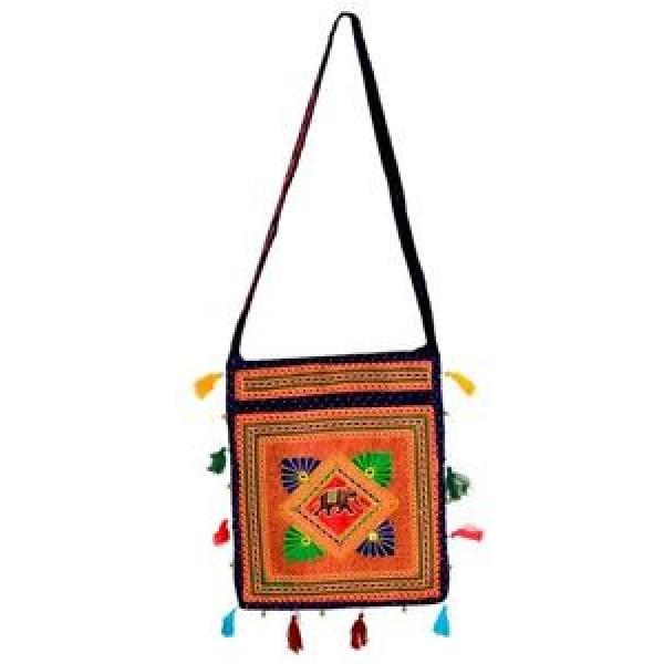 Bohemian Embroidery hand bag ethenic beach bag shopping bag D33S #1 image