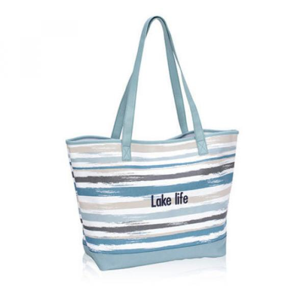 Thirty One Lakeside Tote in Brush Strokes - **NIP** New Spring beach bag #1 image