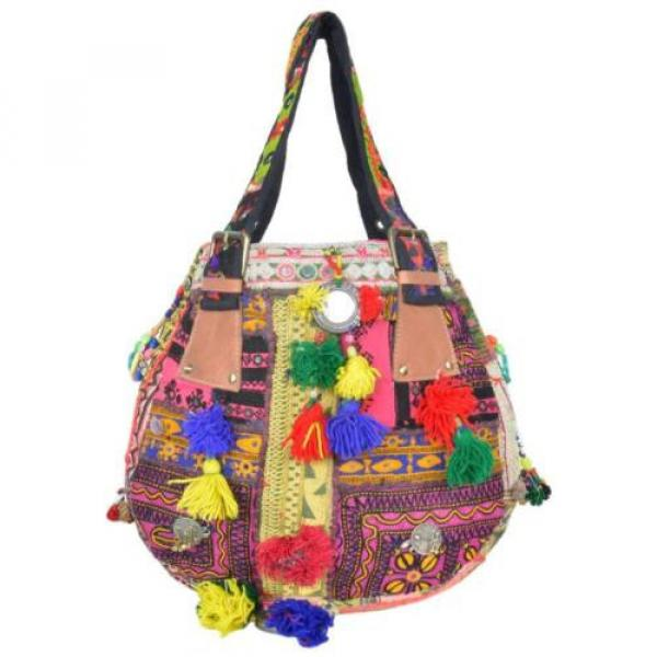 "Banjara Bag 12""x13"" Tote messenger Shopper Market Beach Bag India ID-15028 #1 image"