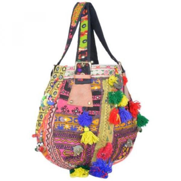 "Banjara Bag 12""x13"" Tote messenger Shopper Market Beach Bag India ID-15028 #2 image"