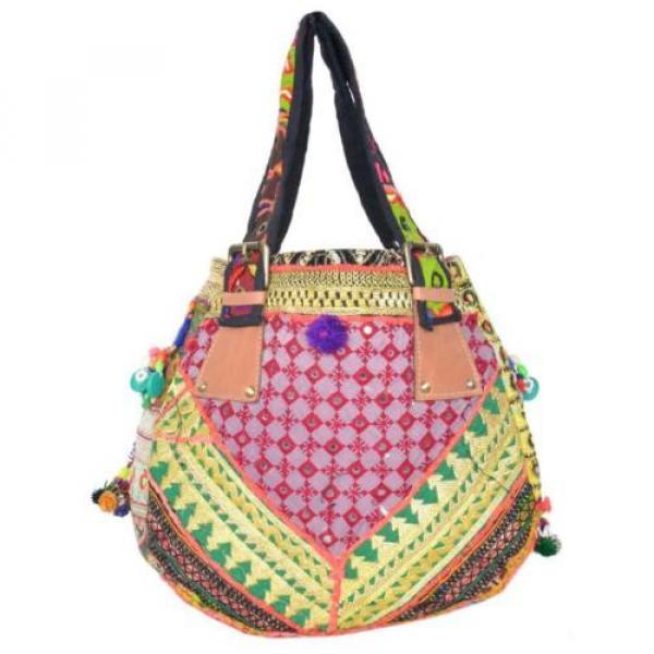 "Banjara Bag 12""x13"" Tote messenger Shopper Market Beach Bag India ID-15028 #3 image"