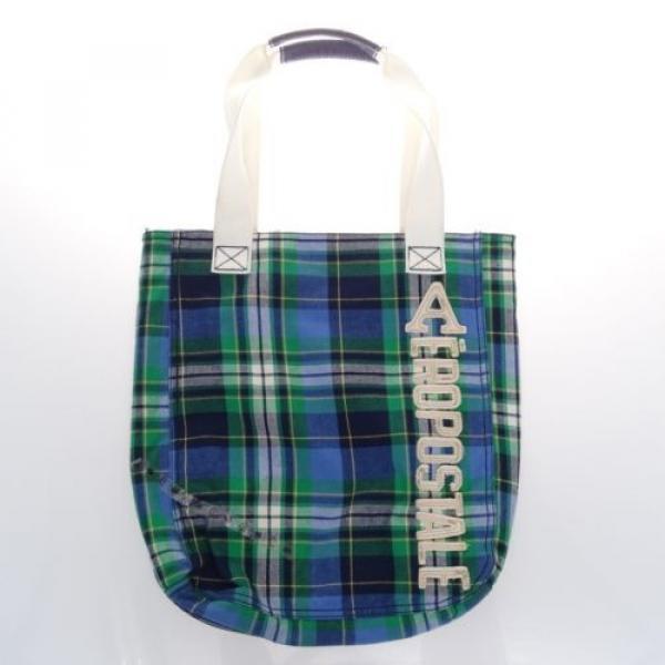 AEROPOSTALE Green Blue Beach Tote Shopping bag #1 image