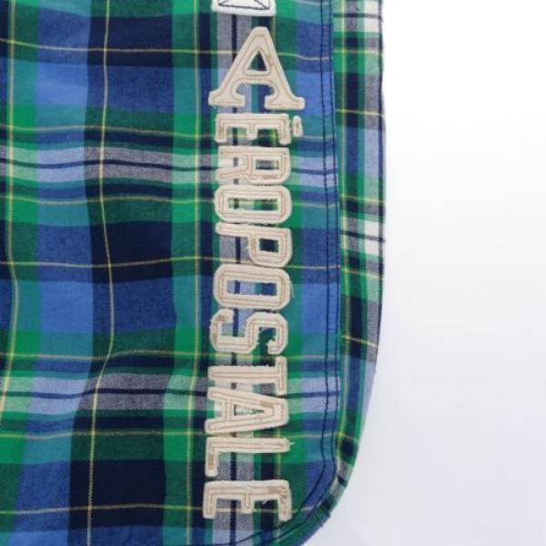 AEROPOSTALE Green Blue Beach Tote Shopping bag #2 image